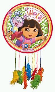 Piñatas de Dora La Exploradora para Fiestas Infantiles