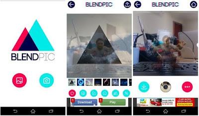 Aplikasi Edit Foto Blend Gambar