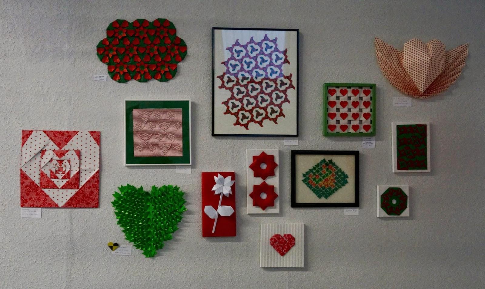 die turmfalter origami mit herz creativa 2015 in dortmund. Black Bedroom Furniture Sets. Home Design Ideas