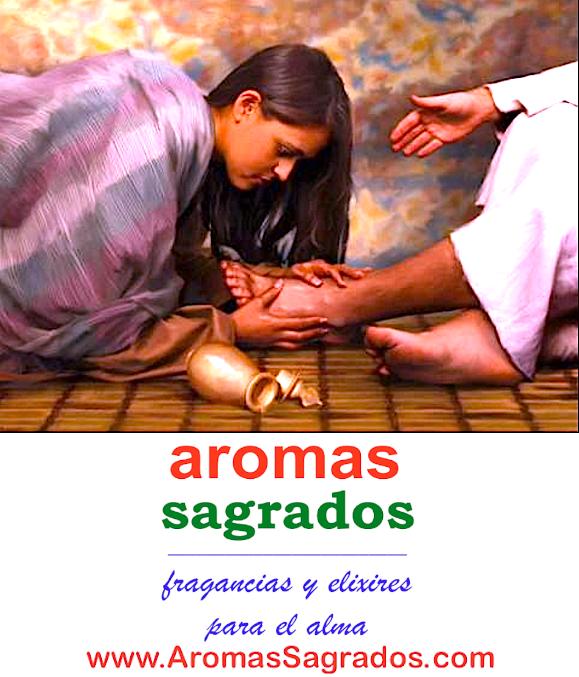 Los Aromas Sagrados® del Maestro Jesús