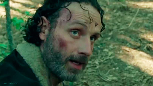Rick Grimes (Andrew Lincoln) - The Walking Dead 5 Trailer Never Let Your Guard Down