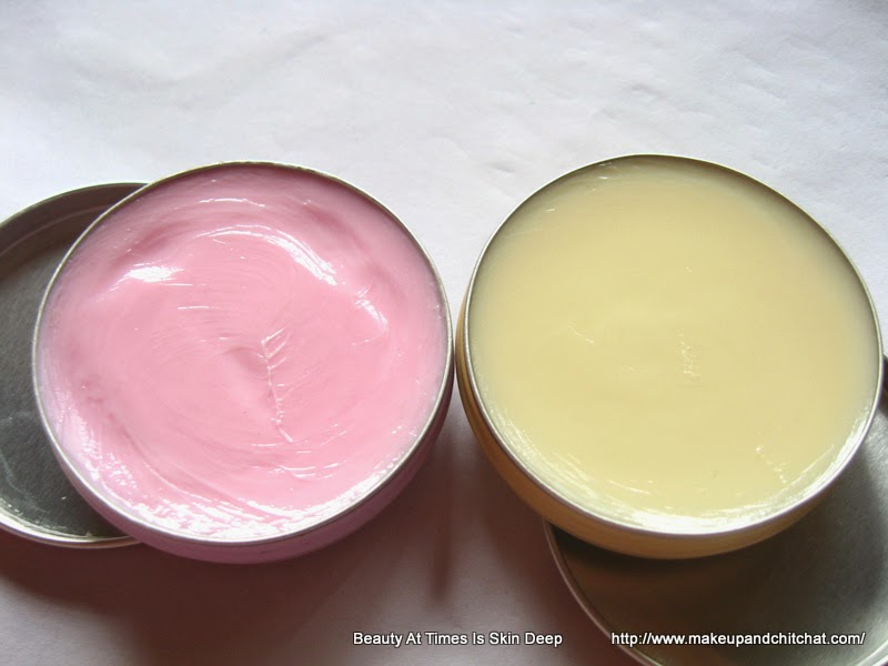 Photo and review of Nivea Lip Butter in Caramel Cream and Raspberry Rose