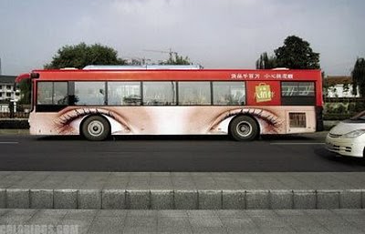 Amazing advertising on buses 05