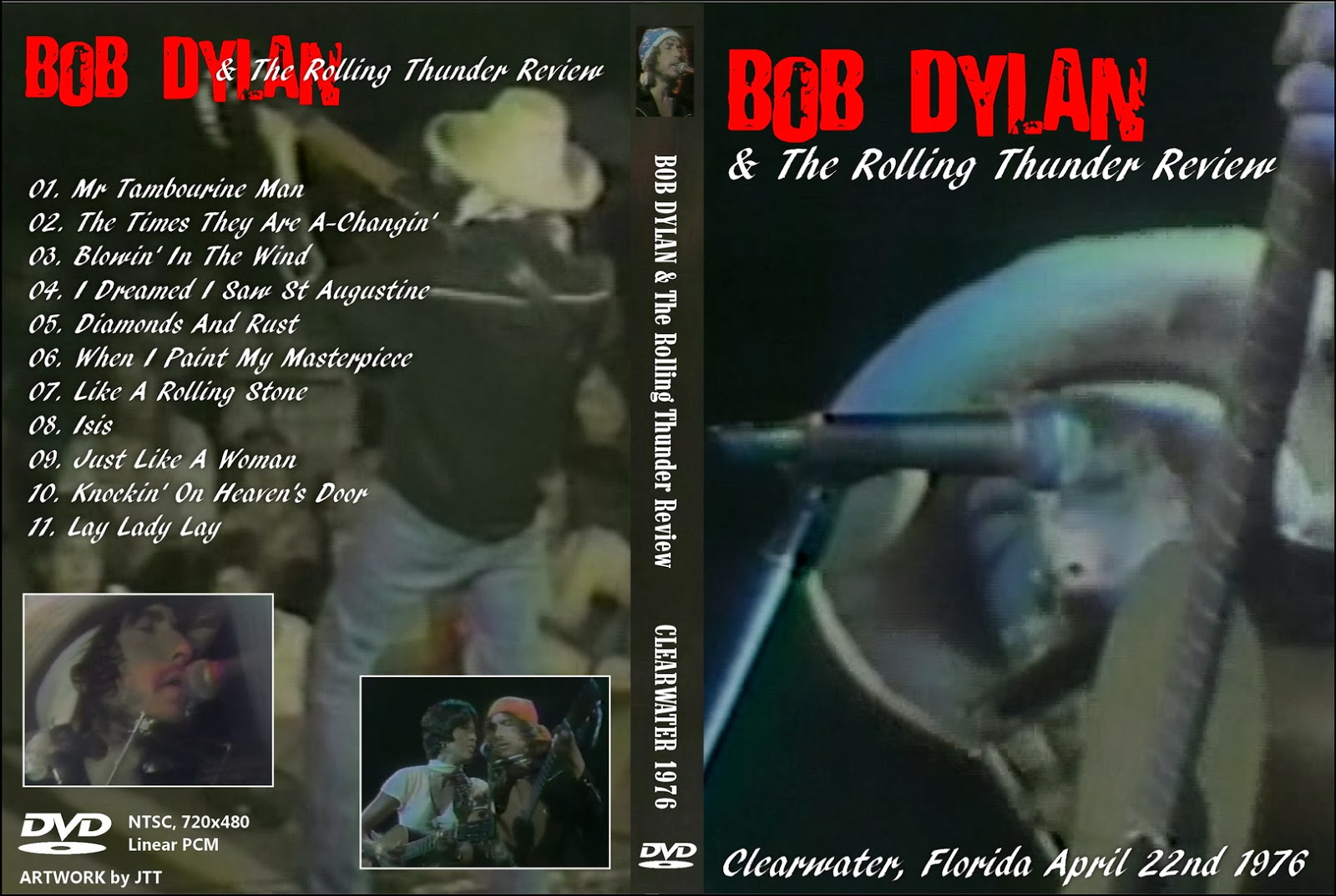 T.U.B.E.: Bob Dylan - 1976-04-22 - Clearwater, FL (DVDfull pro-shot)