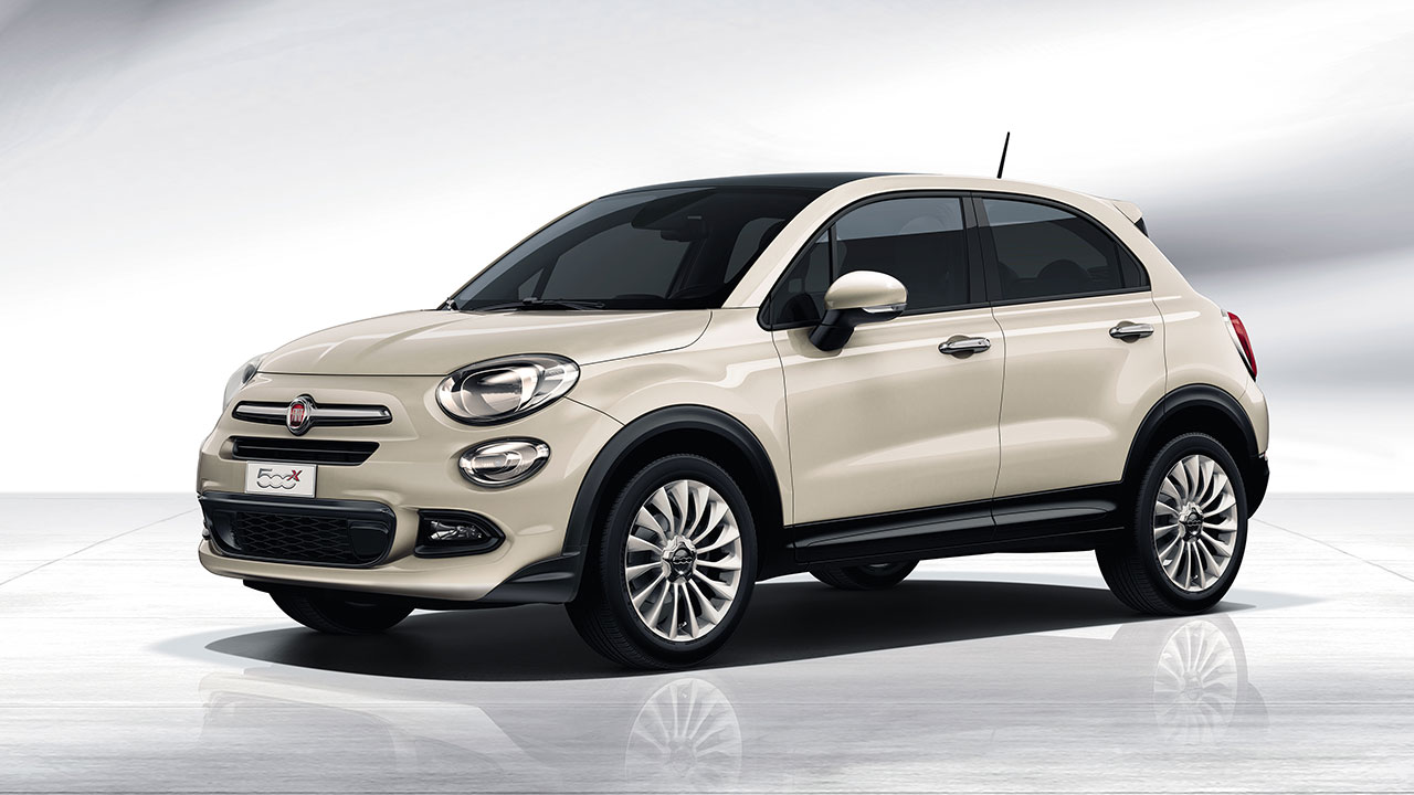 Fiat 500x debuts at the 2014 Paris International Motor Show
