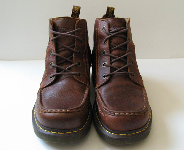 closet doc martens leather wallebee brown boots mens