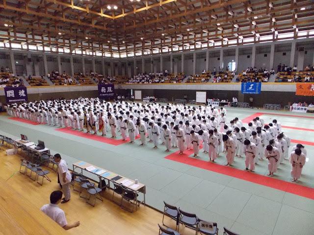 competición judo japón