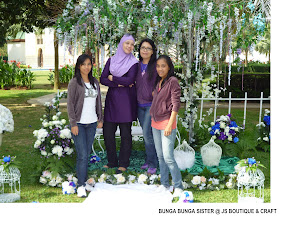 BUNGA BUNGA SISTER @ JS BOUTIQUE & CRAFT