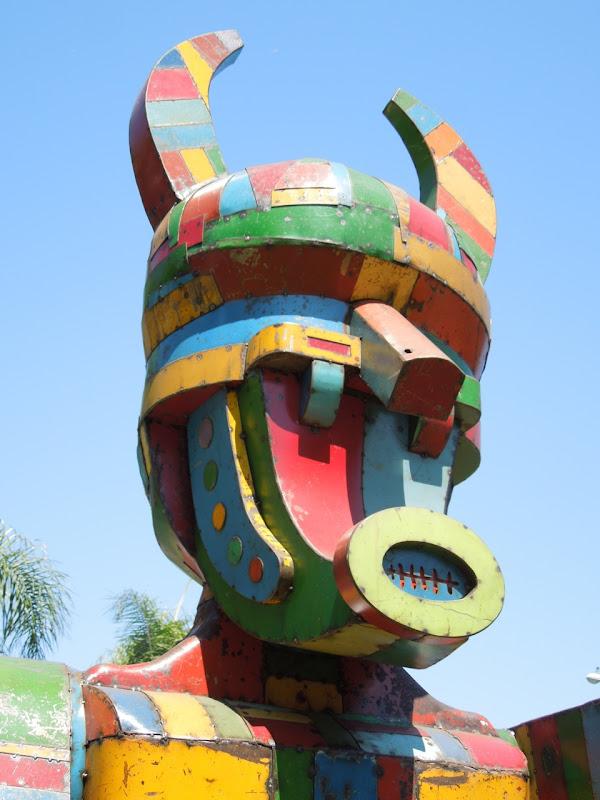 Pretty Boy sculpture head