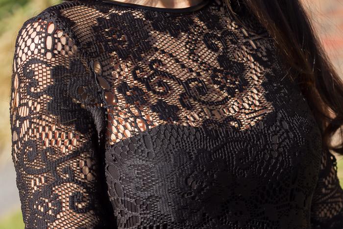 Vestido de Zara para celebraciones estilo lady