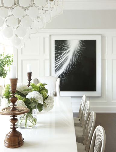belle maison: a dreamy dining room