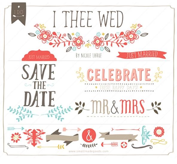 Popular wedding invitation blog cute wedding invitation vector cute wedding invitation vector stopboris Gallery