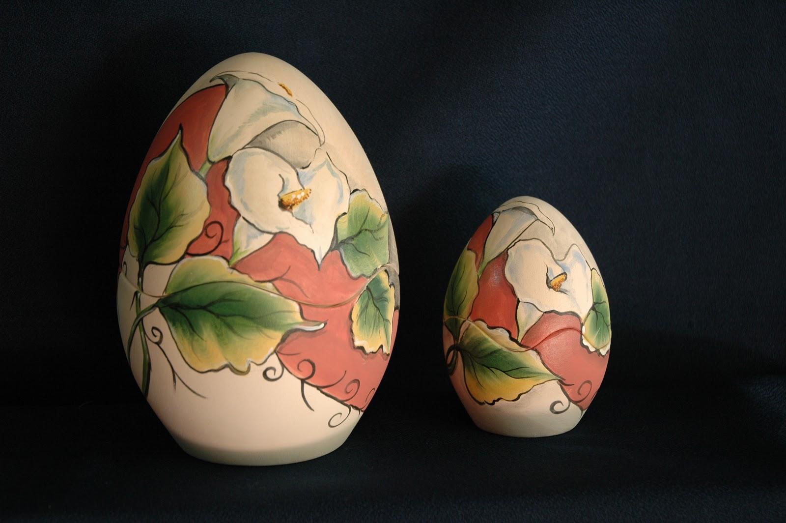Uova di pasqua dipinte a mano - Uova di pasqua decorati a mano ...