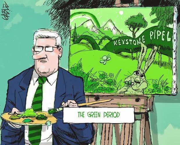 Brian Gable: Stephen Harper - The Green Period.