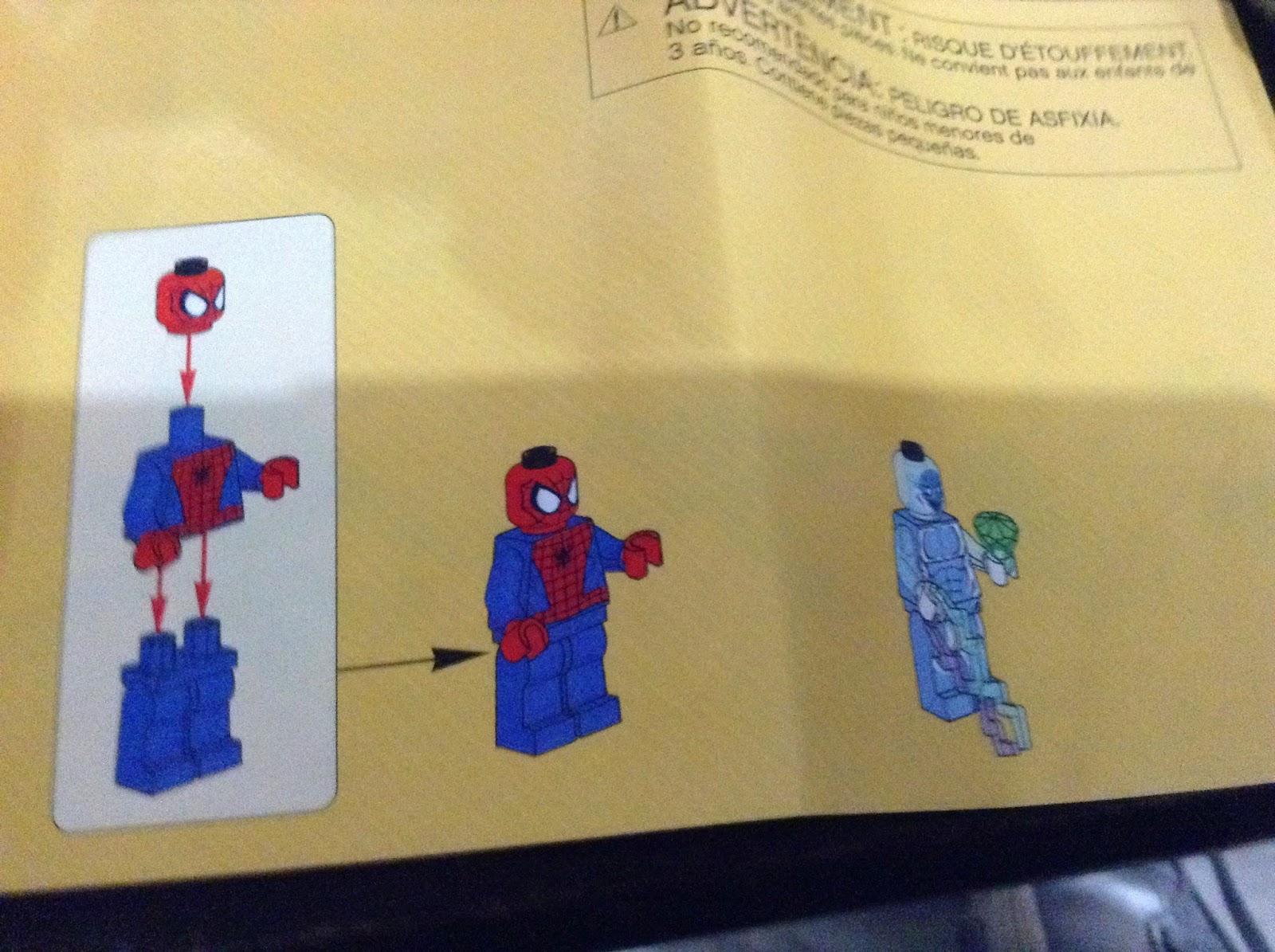 lego spiderman trike instructions