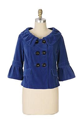 Anthropologie Blue Note Jacket