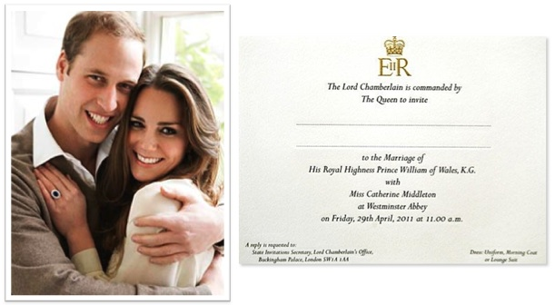 queen elizabeth wedding invitation. queen elizabeth wedding