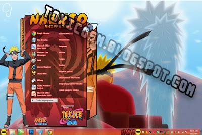Windows 7 Naruto Teması
