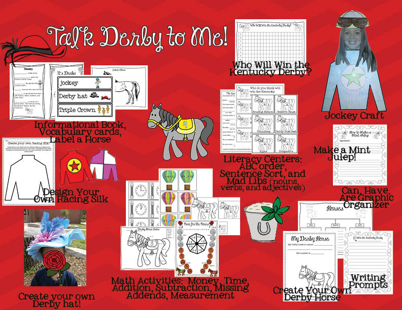 Of Course There Are Ideas For Making Your Own Derby Hat Including A Sheet Where Students Can Design Their Hats Before Them