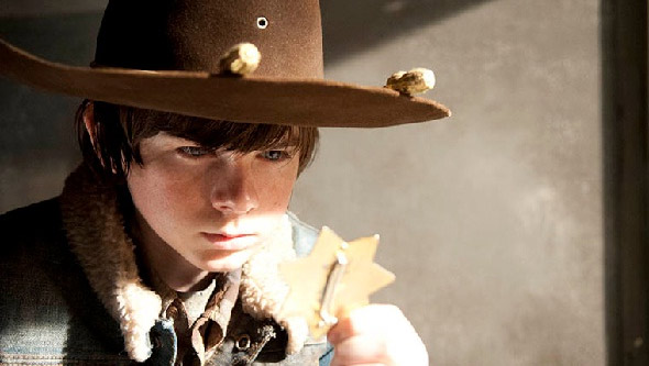 Carl 3x16 The Walking Dead