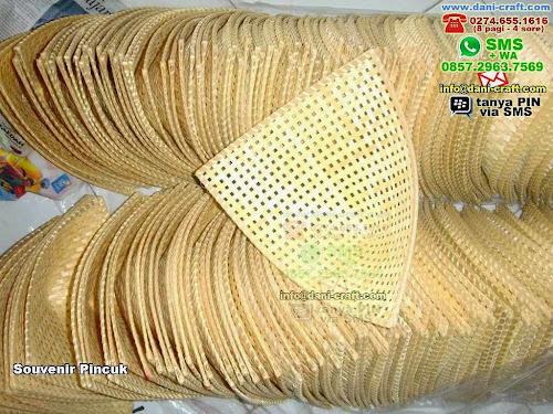 Souvenir Pincuk Bambu Tangerang