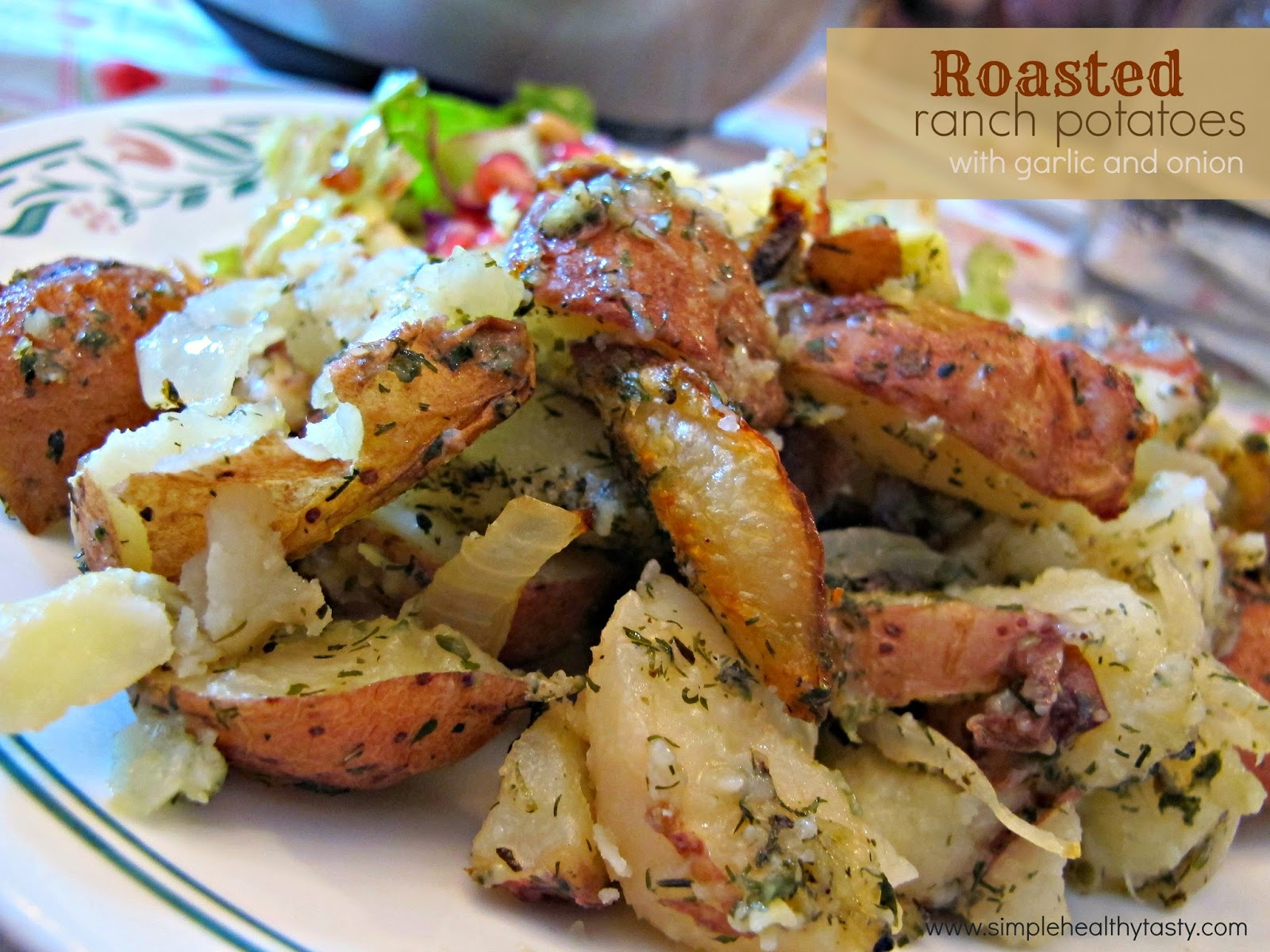 Ranch Style Roasted Potatoes
