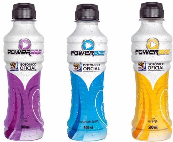 Powerade Coca-Cola: isotônico oficial dos atletas da copa ...