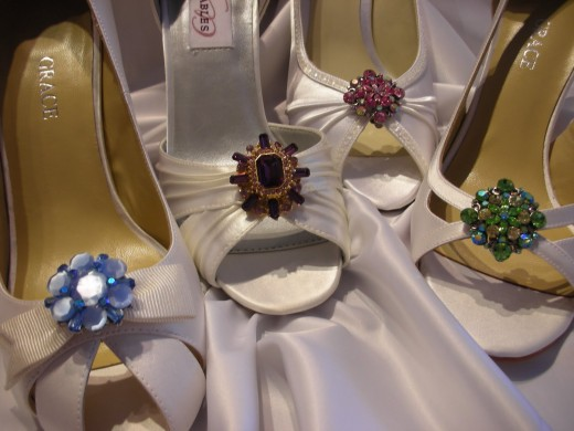 Latest Bridal Shoes 520x390 Awesome Pakistani Sandals