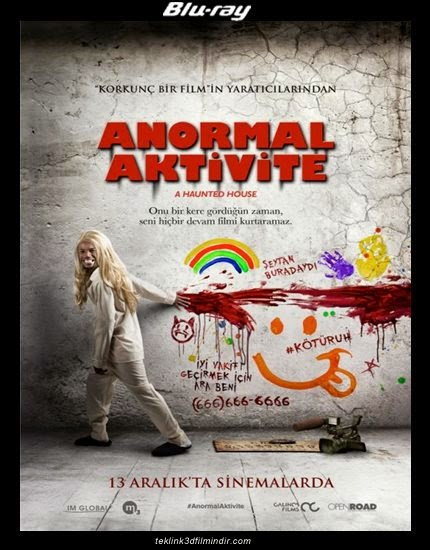 Anormal Aktivite: A Haunted House (2013) afis