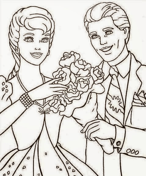 Happy Anniversary Drawing Coloring Pages