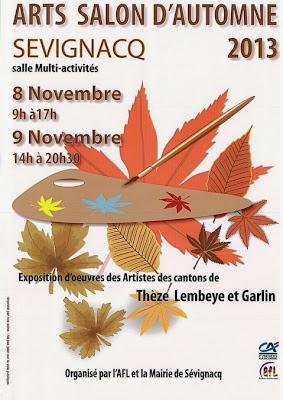 Salon d'automne 2013 à Sévignacq