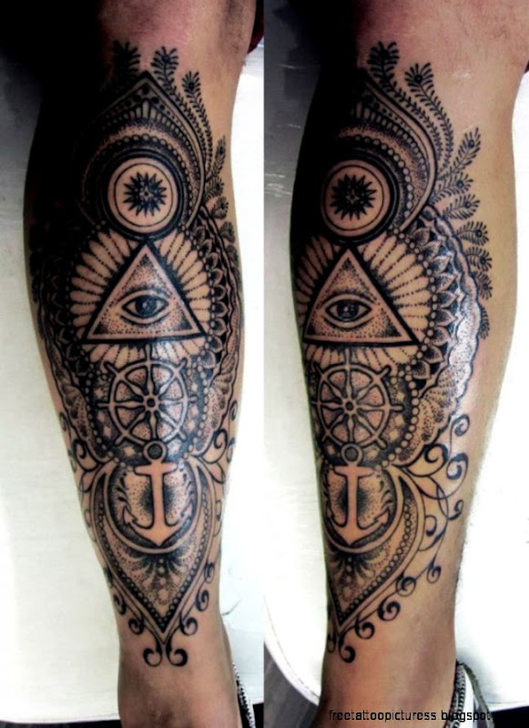 Leg Tattoos For Men   Mens Leg Tattoo Ideas