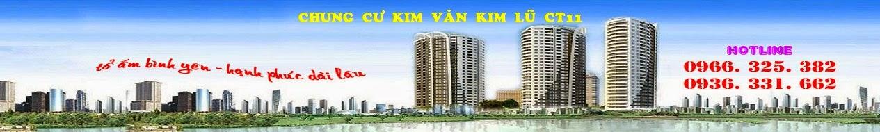 BẢNG GIÁ CHUNG CƯ KIM VĂN KIM LŨ CT12 - CT11 GIÁ RẺ