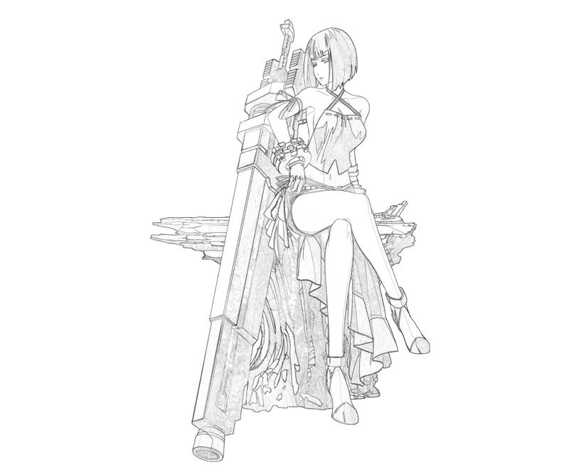 gods-eater-brust-sakuya-weapon-coloring-pages