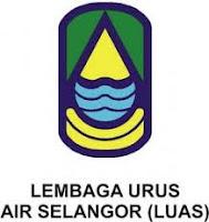 Jawatan Kerja Kosong Lembaga Urus Air Selangor (LUAS) logo