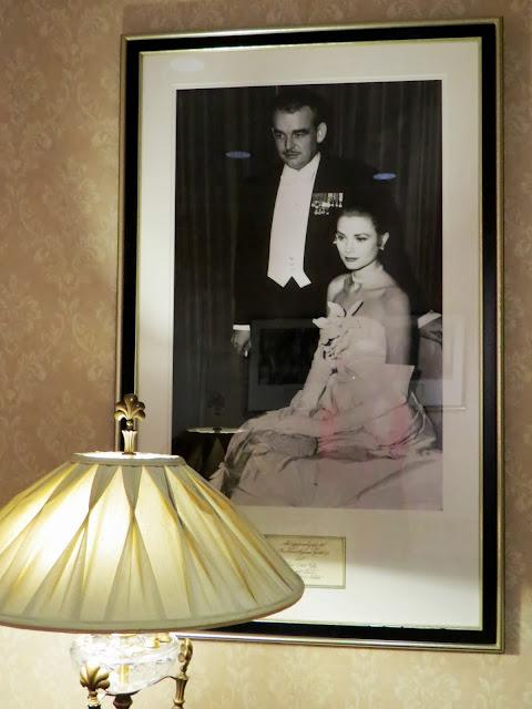 Grace Kelly Prince Rainier at the Waldorf Astoria