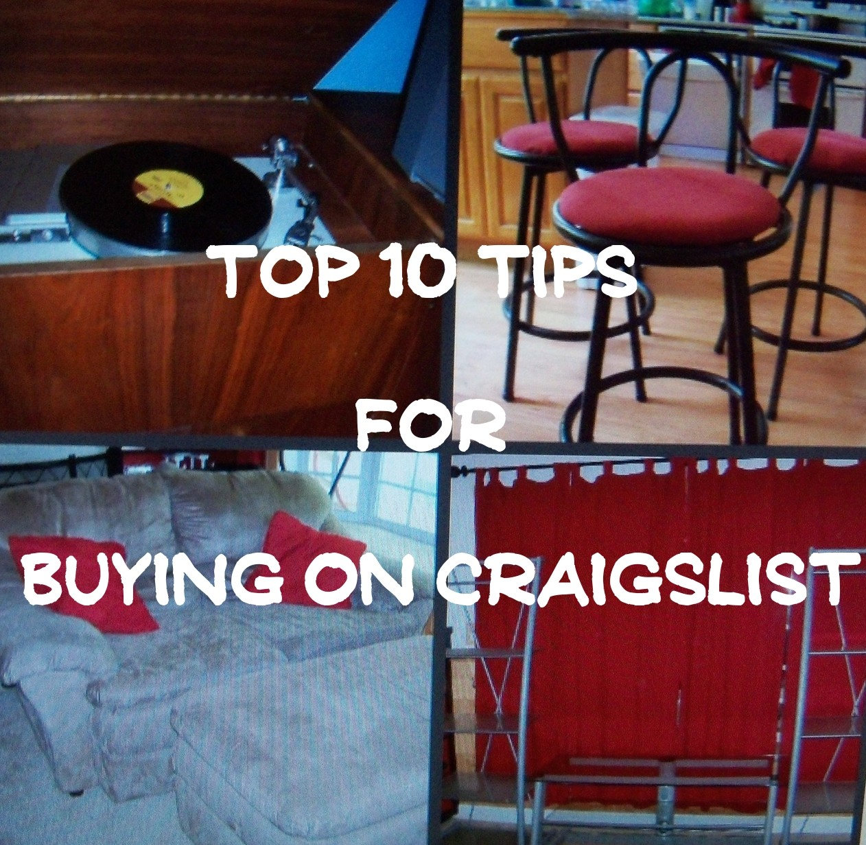 tips from a pro part 2 top 10 tips for buying on craigslist. Black Bedroom Furniture Sets. Home Design Ideas