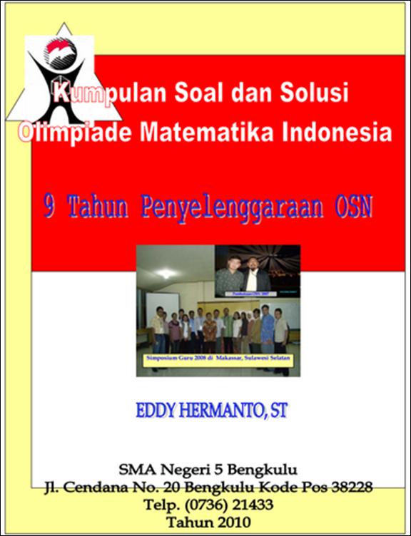 buku 9 tahun osn matematika indonesia blog ilmu matematika karya