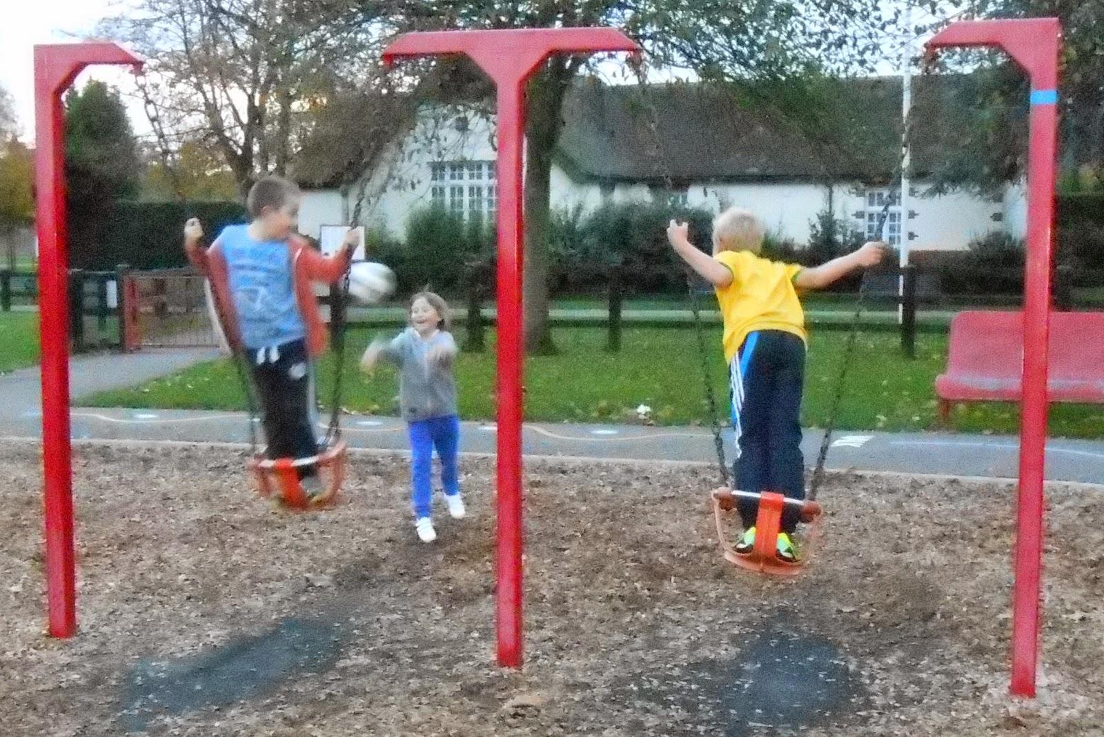 standing on junior baby swings