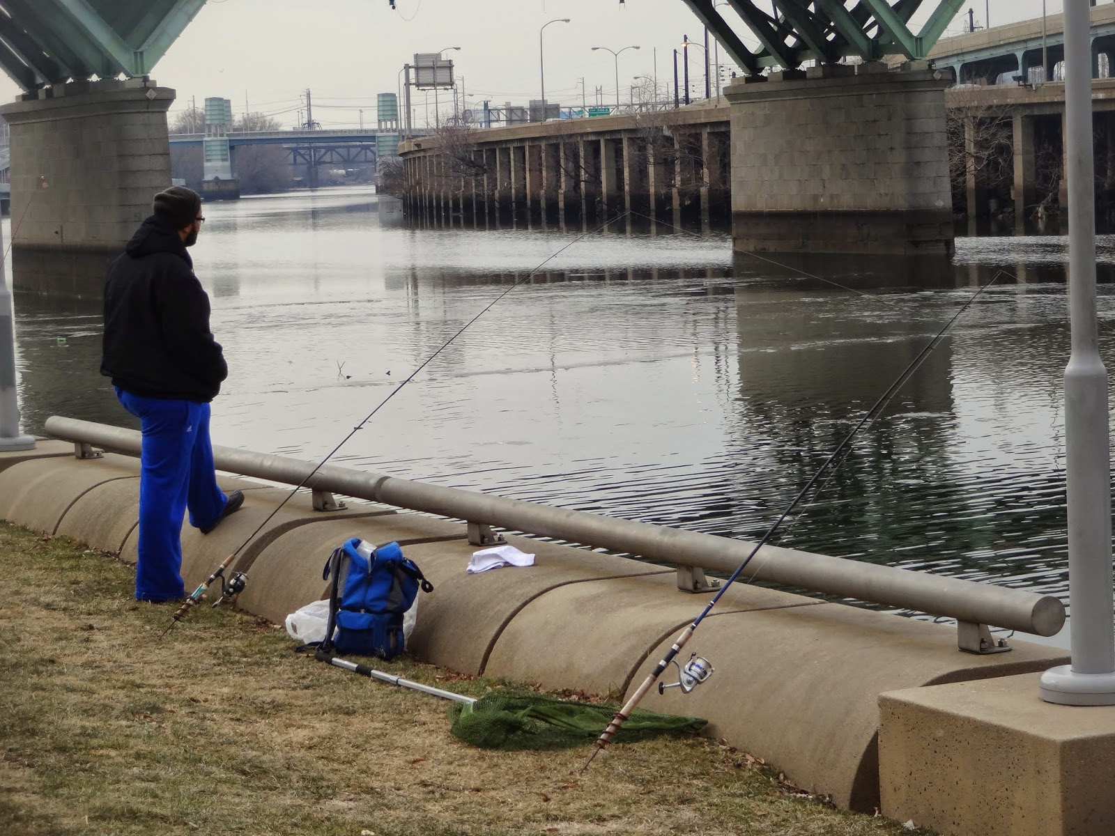 Extreme philly fishing february fishing sessions 02 08 for Catfish fishing gear