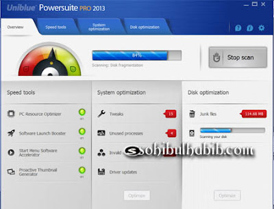 Uniblue Powersuite 4.1.5.2 PRO 2013 Full Serial Anti Blacklist