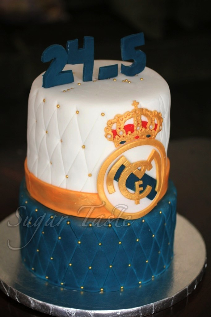 #34 Real Madrid Cake Sugar Taste