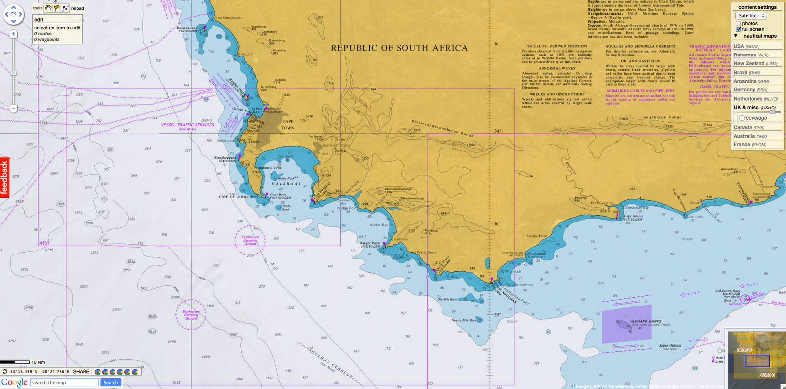 Cape Of Good Hope On Africa Map Pics Download