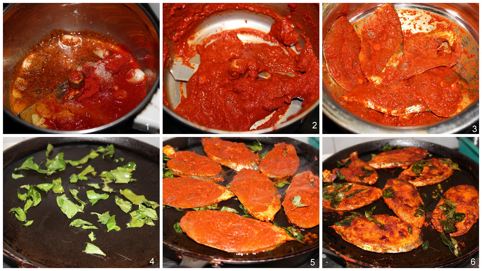 Apy cooking anjal seer fish masala fry for What is the best oil to fry fish in