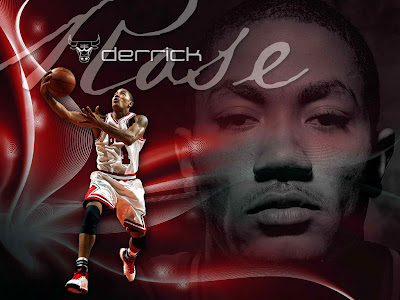 rose wallpaper 2011. derrick rose wallpaper 2011