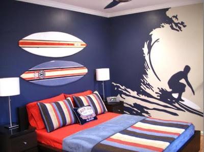 dormitorio surf