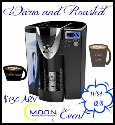 Enter the Warm & Roasted Giveaway. Ends 12/8