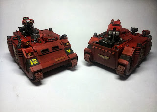 RAZORBACK - BLOOD ANGELS - WARHAMMER 40000 - Clean