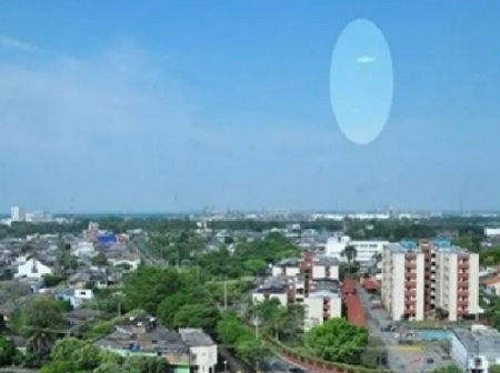 OVNIs en Colombia