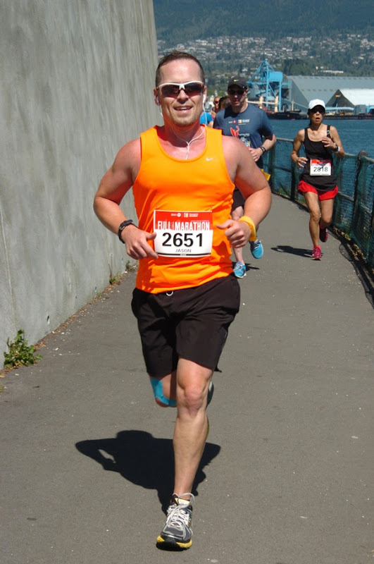 Running Vancouver Marathon 2013